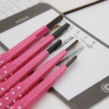 Долгое коричневый косметические бровей красоты pen карандаш глаз дамы макияж инструменты