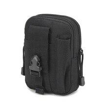 Outdoor sports tactical belt pocket wear purse 5.6 inch mobile phone bag army fan