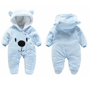 Image 3 - דוב אוזן סלעית חדש נולד תינוק Rompers לתינוקות בני בנות בגדי יילוד בגדי מותגים סרבל תינוקות תלבושות תינוק תלבושת