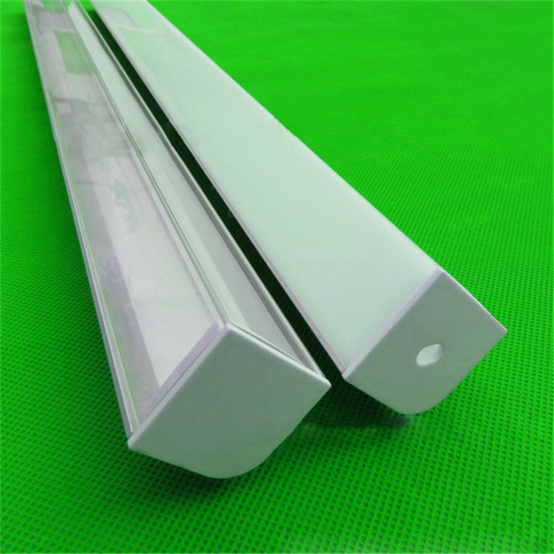 10-30pcs/lot,2m/pc Aluminum Profile For Double Row Led Strip,W30*H30mm Right Angle  Corner Led Channel For 20mm Pcb