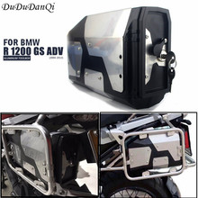 Tool Box For BMW r1250gs r1200gs lc & adv Adventure 2002 2008 2018 for r 1200 gs Left Side Bracket Aluminum box