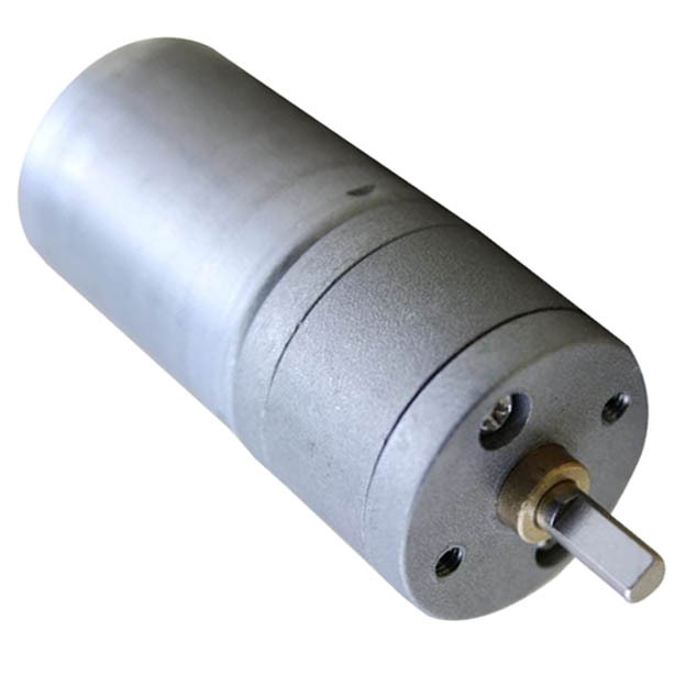 High Quality 12V DC 258 Turn The Outer Diameter Of 25MM RF-370 Geared Motors T0.05 new 12v 3000 dc high speed electric motors turn the long axis of the brush motor r5166 per minute