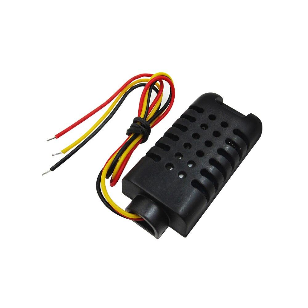 10 pièces DHT21 100% nouveau capteur/module d'humidité relative et de température à sortie numérique, connexion avec capteur à ligne unique AM2301