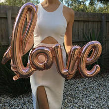1 Pc Foil Baloons Love Valentine Party Inflatable Balls Toys Air Balloons Christmas Balloons 2019 New Wedding Decoration Mariage