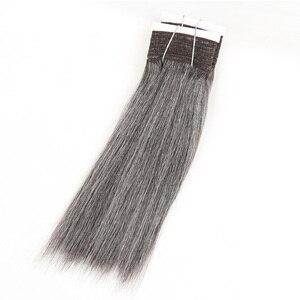 Image 3 - מלוטש צבעוני שיער ברזילאי שיער Weave חבילות ישר שיער חבילות #44 #34 #280 51 # פסנתר אפור רמי שיער טבעי הרחבות