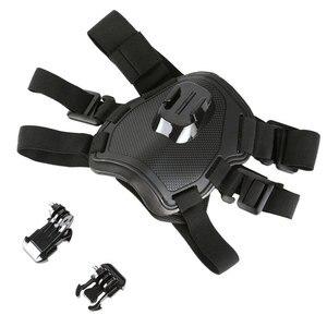 Image 4 - تبادل لاطلاق النار الكلب جلب تسخير شريط للصدر حزام الكتف جبل ل GoPro بطل 6 5 4 3 2 ل SJ4000 عمل الكاميرا