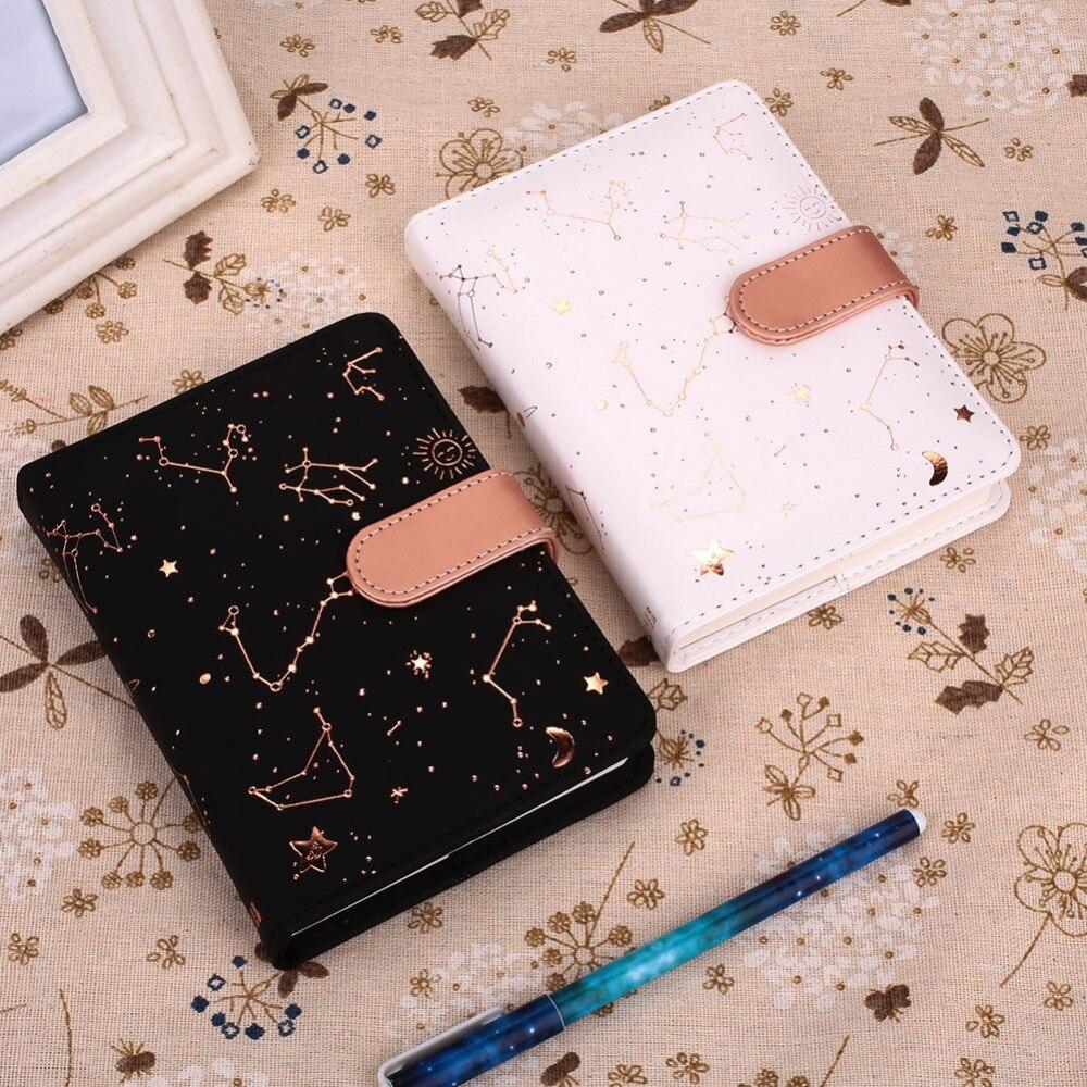 Милый кожзаменитель звезда расписание ежедневник дневник еженедельник блокноты школьные милые офисные принадлежности канцелярские принадлежности Руководство
