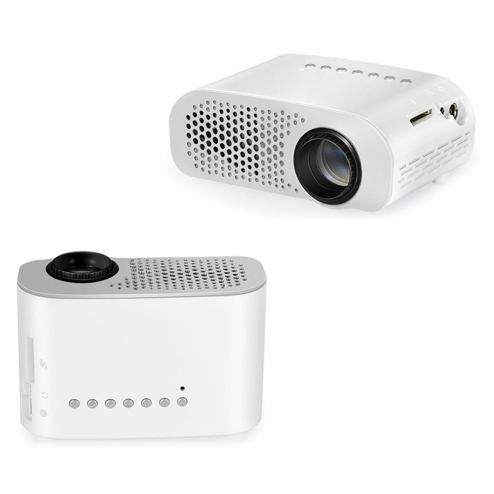 Mini portable led video projector portable mini led lcd for Small video projectors reviews