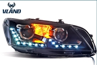 VLAND factory for Car head lamp For Passat headlight 2012 2013 2014 2015 for Passat B7 head light LER DRL H7 HID Bi Xenon Len