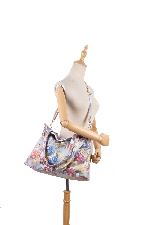 flor em relevo senhora mensageiro bolsas