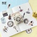 Винтажный журнал, путешествия, бумага, ручная работа, дневник, японские наклейки, скрапбукинг, принадлежности для учителей
