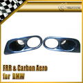 FOR BMW E46 M3 Carbon Fiber New 2pcs Front Fog Light Cover