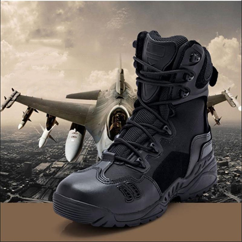 US Army Tactical Desert Spider Shoes Special Forces Tactical Bottes Military Ankle Boots Mens Army Boots