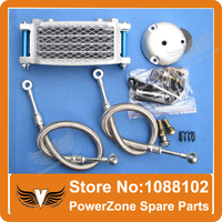 Motorcycle Oil Cooler Radiator Cooling System Parts Fit SU ZUKI Motorcycle EN GN GSX 125 200