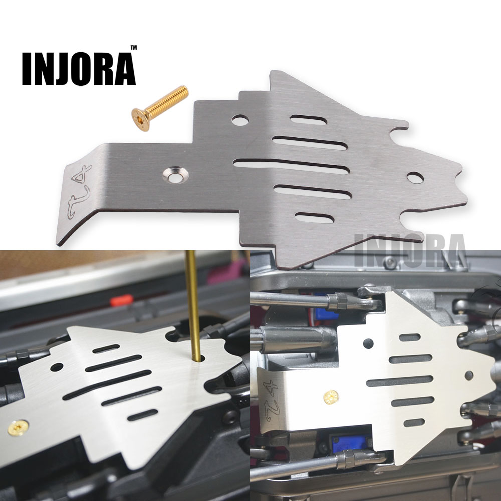 TRX4 Metal Chassis Armor Protection Skid Plate for 1/10 RC Crawler TRAXXAS Trx-4 Trx 4