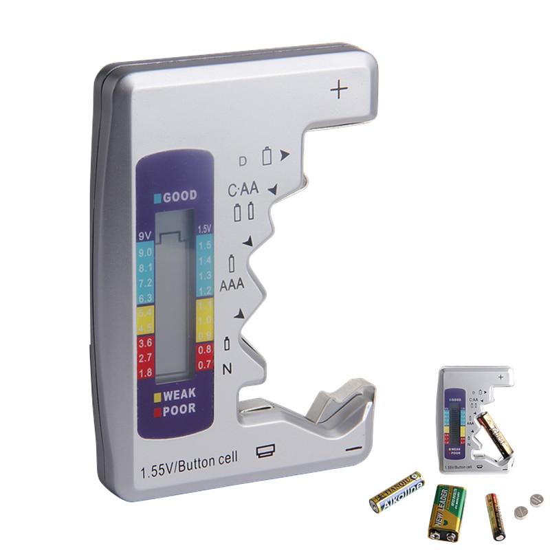 Digitale Batterie Tester Checker Batterie Kapazität Tester Für C/D/9 v/AA/AAA/1,5 v Lithium-Batterie Power Versorgung Messung Instrument