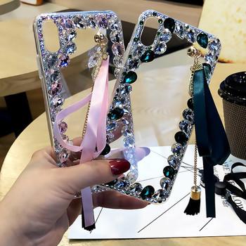 A31 luksusowe etui na telefony do Samsung galaxy Note 20 Ultra M51 M31 A21S obudowa z kryształem górskim kryształ kamień Telefon Kilifi Funda Coque tanie i dobre opinie Ayeena CN (pochodzenie) Aneks Skrzynki Bling Diamonds 3D Crystal Stones Glossy Glitter Sparkle Jewelled Case Galaxy Note10