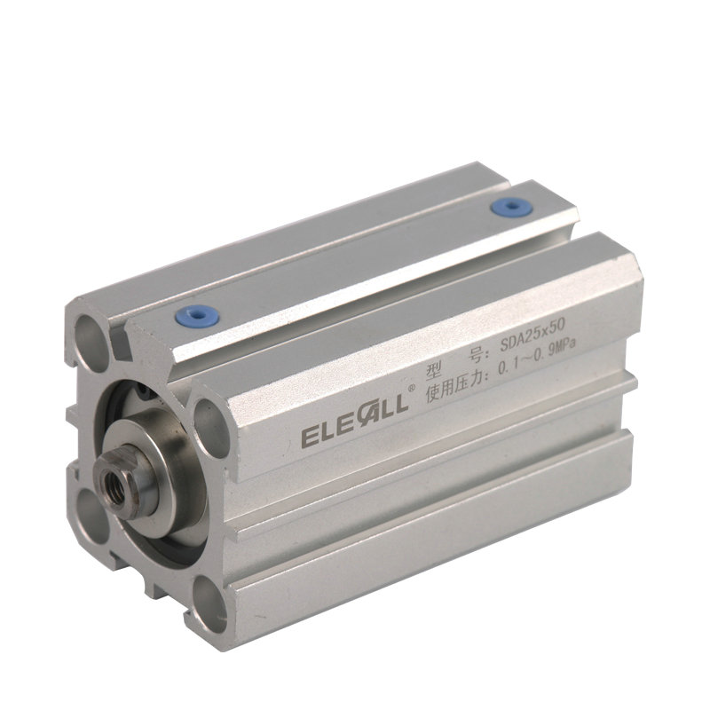 Compact 25mm Bore 40mm  Air Cylinders Double Acting Pneumatic Air Cylinder Stroke SDA25*40 airtac type cylinder sda 40 40 compact cylinder double acting 40 40mm accept custom