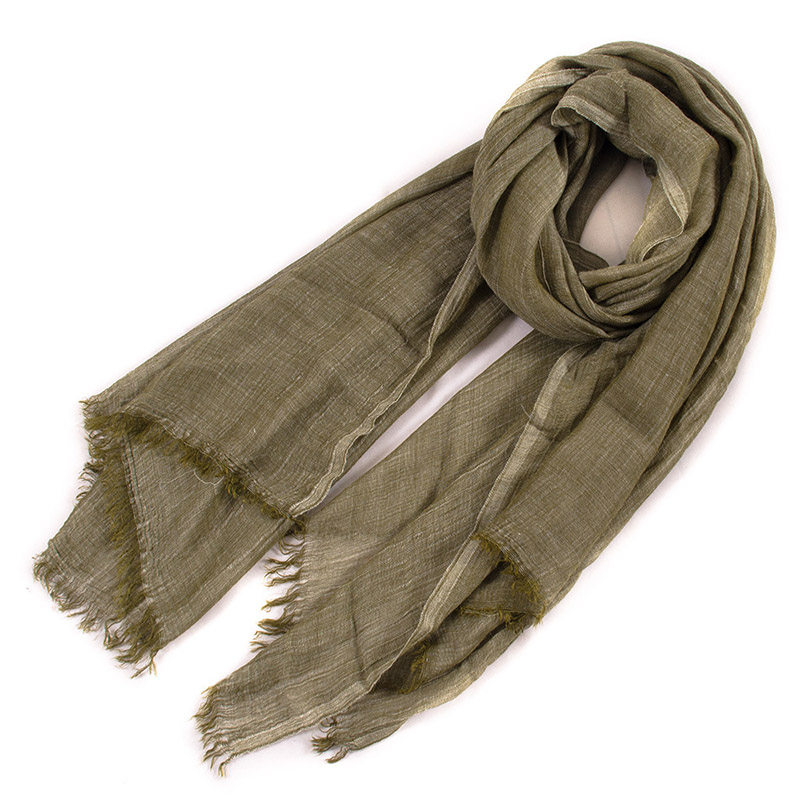 Cotton linen scarf Unisex Style Winter Scarf Cotton And Linen Solider Color long women's scarves shawl fashion men scarf