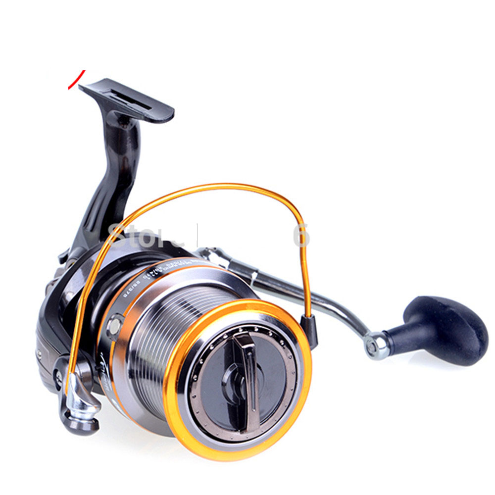 Super Strong 13BB 9000 Series Reel 4.1:1 Black Sliver Spinning Quality Big Game Sea Fishing Reel Metal Saltwater Fish Wheel saltwater reel jigging 15w 60lbs balanced drag offshore inshore sea game fishing silky smooth super light gomexus