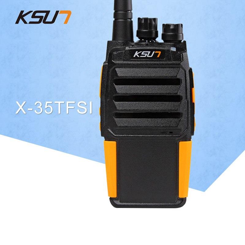 1 STÜCKE BUXUN X-35TFSI hochdruck version Walkie Talkie 8 Watt Dual - Walkie-Talkie