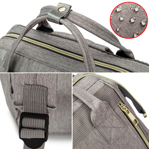 Image 5 - ベビーおむつバッグバックパックママのためのおむつバッグミイラ母性看護バッグ大容量防水旅行ハンドバッグのためのベビーカー