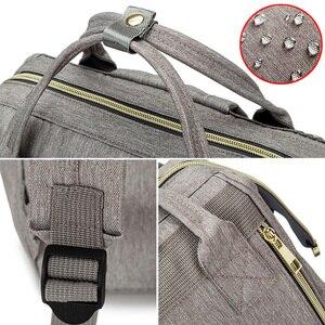 Image 5 - Bolsa de pañales para bebés, mochila de maternidad, artículos para el cuidado del bebé, cambiador
