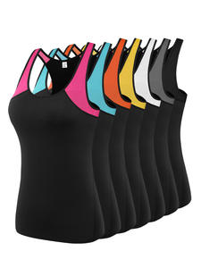 Gym Clothing T-Shirts Sport-Tops Exercise Running-Singlets Workout Women Sleeveless Sexy