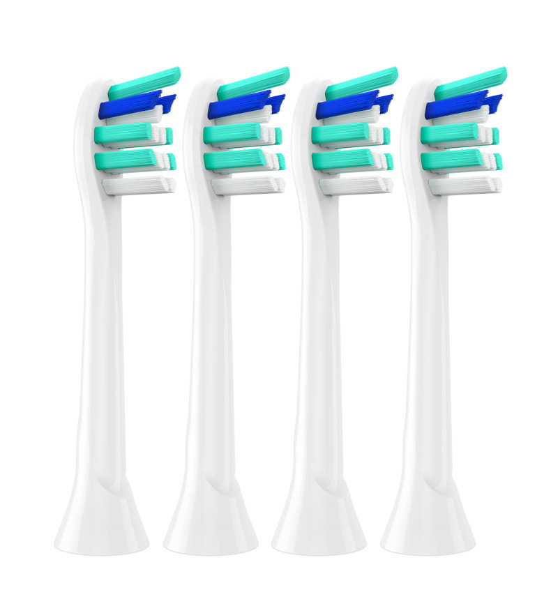 4pcs/lot For Philips Sonicare InterCare Eletrcic Toothbrush Heads Replacement Brushes Head