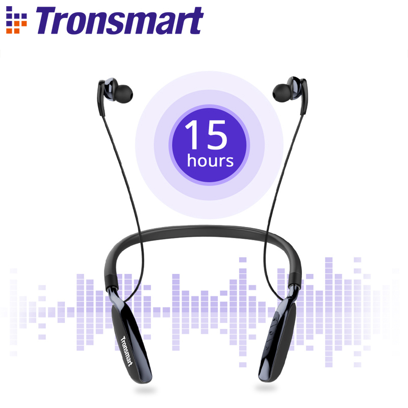 Tronsmart Encore S4 Bluetooth Headphones CSR8635 Active Noise Cancelling Wireless Earphones Headset for Gamer Gaming Headphone barbra streisand encore movie partners sing broadway lp