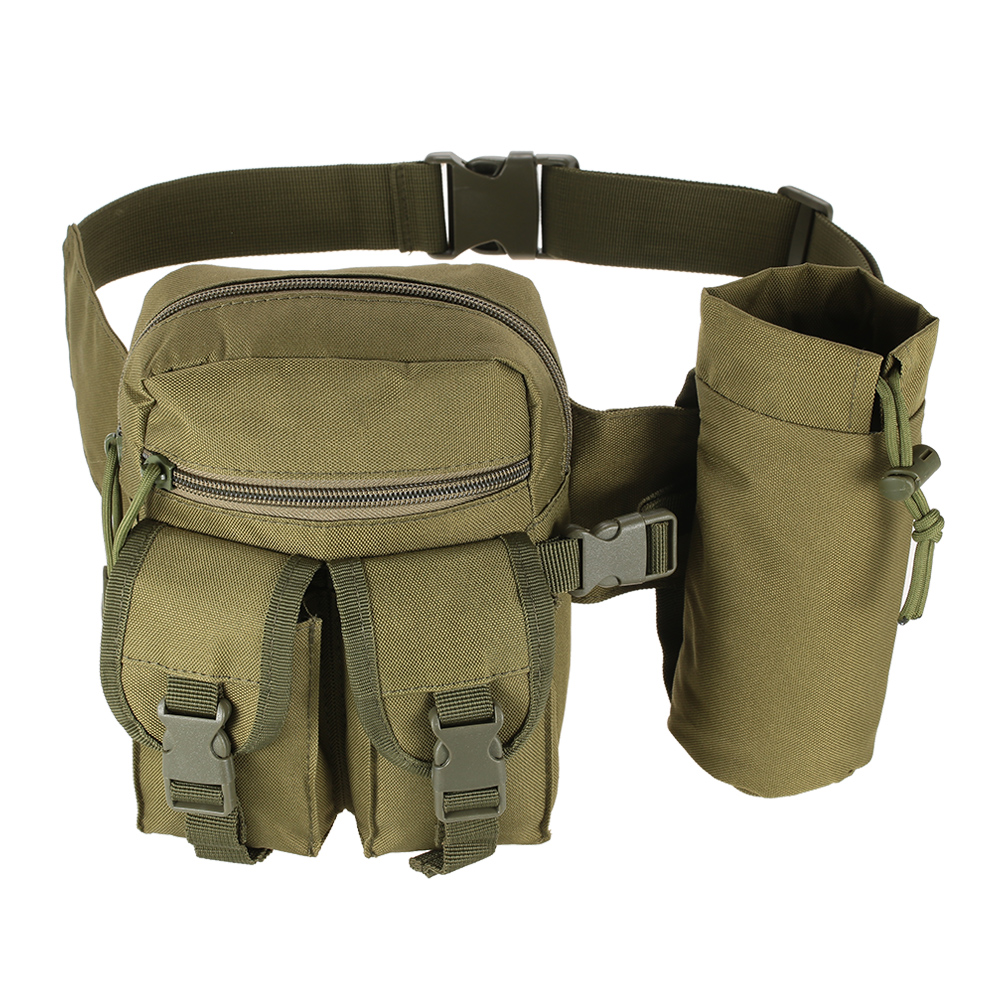 9448a320ff2 US $9.93 40% OFF|Tactical Molle Bag Hip Packs Waist Bag Fanny Pack Hiking  Fishing Sports Hunting Waist Bags Tactical Sports Bag Belt Pouch-in  Climbing ...