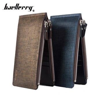 Kashelek For ID Bank Credit Business Phone Card Holder Men Wallet Coin Purse Case Male Bag Cover Pocket Porte Carte Cardholder
