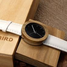 2017 bobo bird 37mm palo santo reloj de los regalos de la mujer señora natural de madera de madera de pulsera relogio feminino c-j02