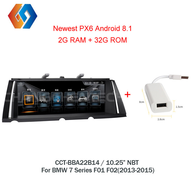 Android 8.1 GPS Radio For BMW 7 Series F01 F02(2013-2015) Car Multimedia Touch Screen Stereo NBT system EVO UI WiFi BT DVR TV 14