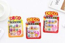 9pcs/set Lovely mini glitter Washi Tape set DIY decoration Scrapbooking Sticker Label Masking Tape School Office Supply