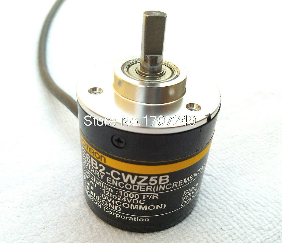 E6B2CWZ5B OMRON ABZ 3-phase Rotary Encoder E6B2-CWZ5B 10/20/30/100/200/300/360/500/1000/1800/2000/2500P/R DC12-24V, PNP Output