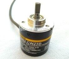 E6B2CWZ5B Codificador rotativo de 3 fases OMRON ABZ E6B2 CWZ5B 10/20/30/100/200/300/360/500/1000/1800/2000/2500P/DC12 24V R, salida PNP