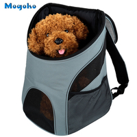 Mogoko Quality Mesh Head Pet Carrier Breathable Small Dog Backpack PC Large Cat Outside Travel Bag