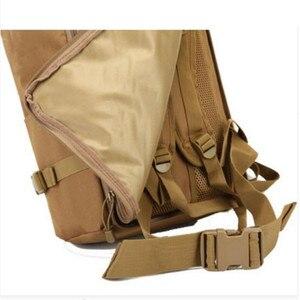 Image 4 - Uomini e donne zaino da viaggio zaino da viaggio grande capacità zaino 60 l borsa appassionati di militari antiusura nylon impermeabile