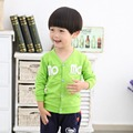 Autumn Spring Letter BoysJackets Cardigan Baby Kids Coat Children Knitting Outwear Coats S0581