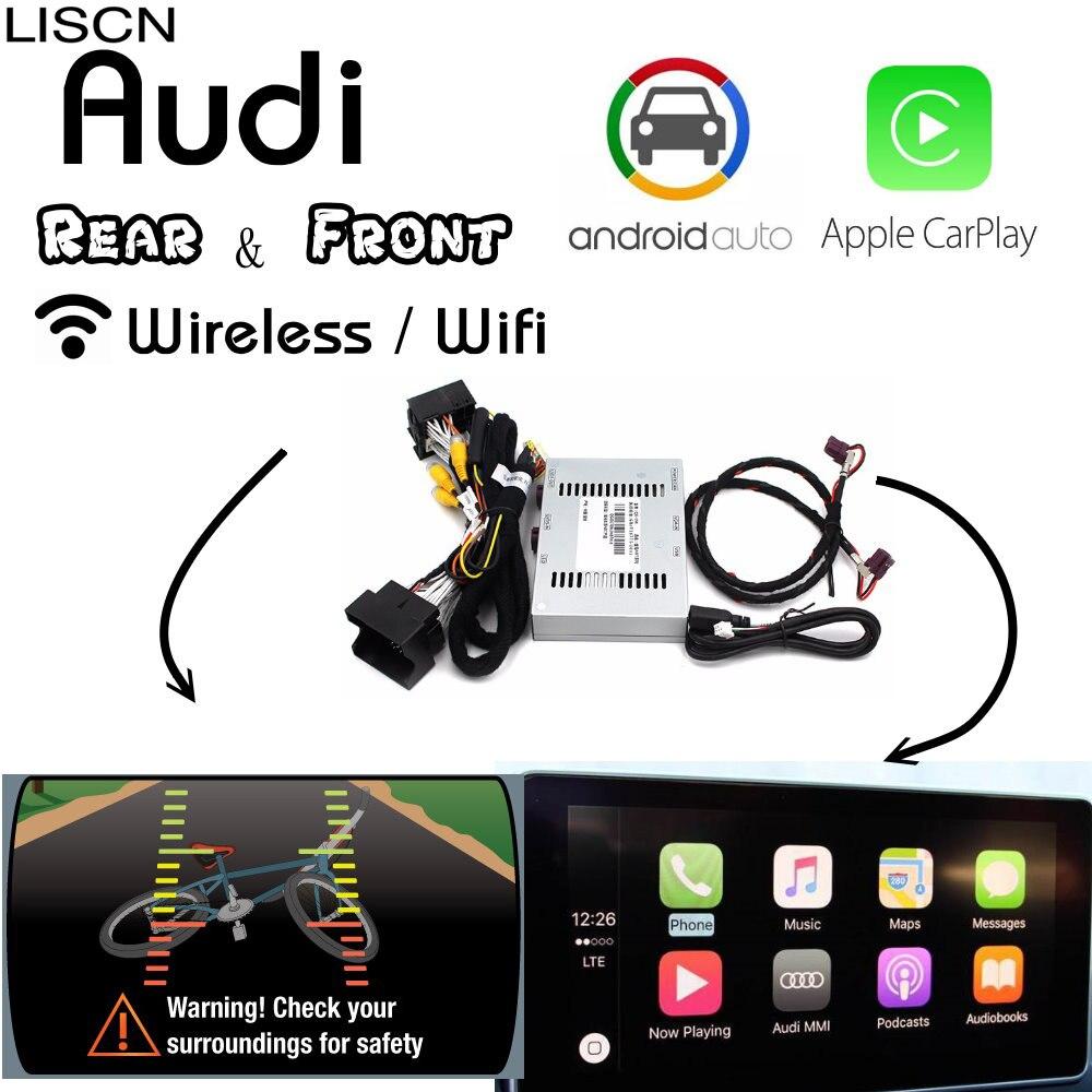 Pour Audi sans fil Carplay boîte arrière et avant caméra et Carplay Interface affichage améliorer Kits A3 A4 A5 S5 A6 A7 A8 Q3 Q5 Q7