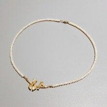 Lii Ji Dây Chuyền Ngọc Trai Nước Ngọt Chim Và Lá Bạc 925 Mạ Vàng 18K Đính Đá Tinh Tế Trang Sức Dành Cho Nữ quà Tặng