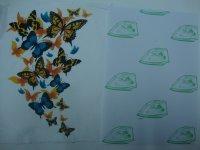 Image 2 - (A4 * 40pcs) לא צריך חיתוך נייר עם לייזר מדפסות חום העברת הדפסת נייר לבגד אור צבע (8.3*11.7 אינץ) TL 150M
