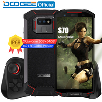 DOOGEE S70 Game Phone IP68/IP69K Waterproof Wireless Charge NFC 5500mAh 12V2A Quick Charge 5.99 FHD Helio P23 Octa Core 6GB 64GB
