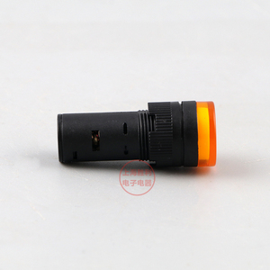 Image 5 - Lâmpada piloto de led com indicador de 16mm p53, luz de piloto de AD16 16C, indicador de energia para montagem em painel 12v/24v/36v/48v/220v/380v
