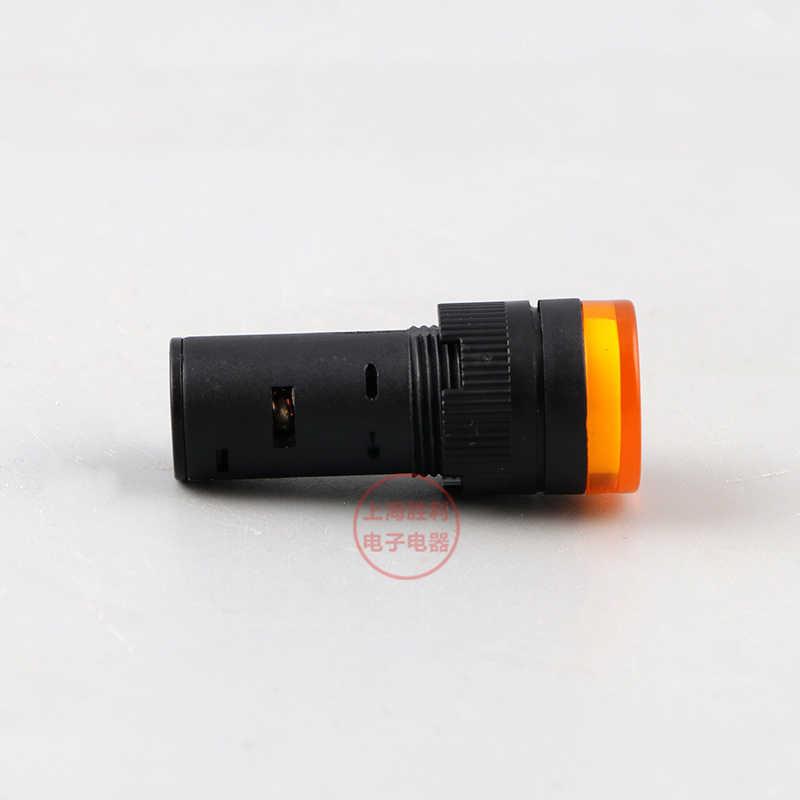 P53 16mm indicador LED lámpara de señal de piloto lámpara AD16-16C LED panel de luz indicadora de montaje con 12 V/24 V/36 V/48 V/220 V/380 V