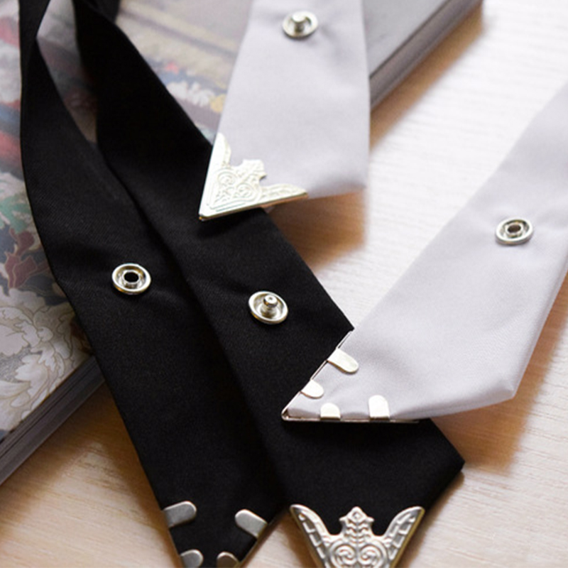 Women Men Cross Bow Tie Adjustable Solid Polyester Wedding Party fatherday