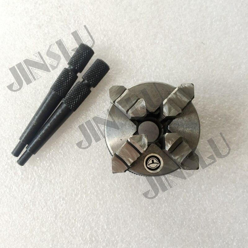 Manual Self Centering Mini Chucks K02-50 4 jaws Lathe Chuck 50mm 2''Inch M14*1 Thread  цены