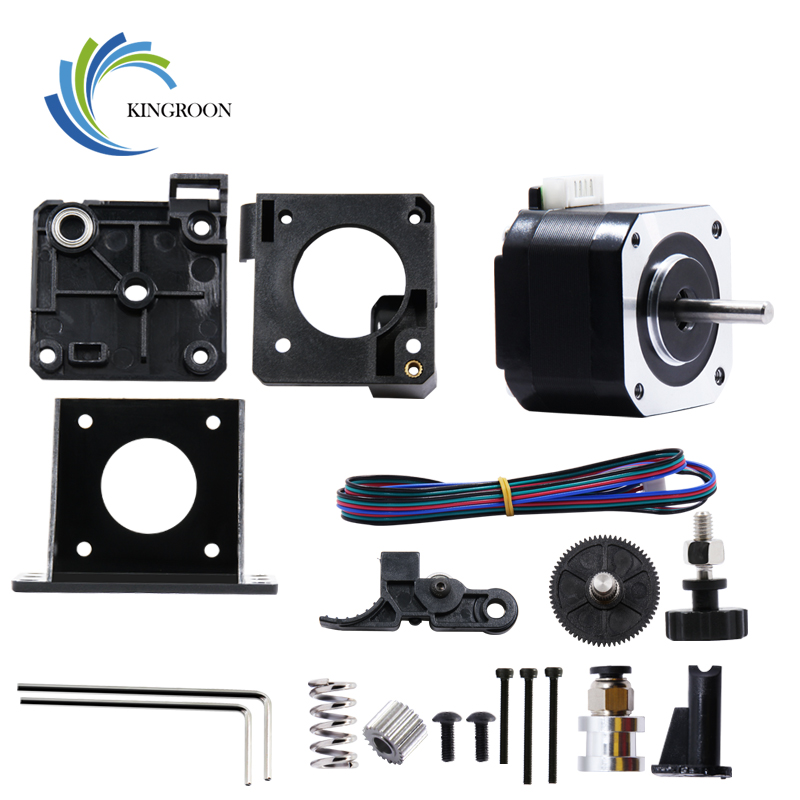 KINGROON Titan Extruder Bowden With 42 Stepper Motor Kit For 3D Printer Parts Reprap MK8 J-head Romote Mounting Bracket DIY Kit