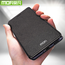 For Huawei P Smart 2019 Case For Huawei P Smart Plus Case Cover Silicone Flip Leather Original Mofi PSmart P Smart+ shockproof